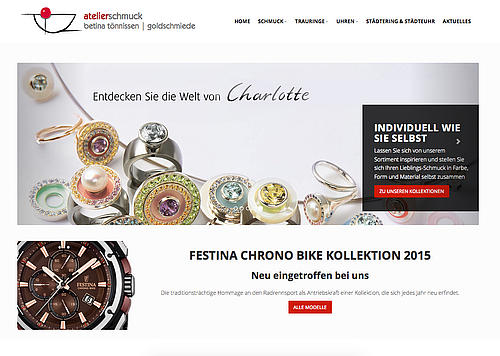 atelier schmuck website
